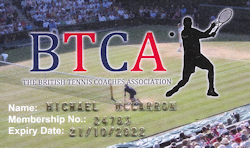British Tennis Coaches Associaction BTCA